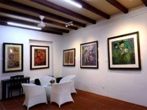 penang van rental - batik printing museum (1)
