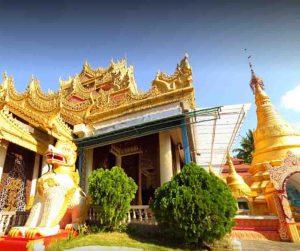 penang van rental - dharmikarama burmese temple (2)