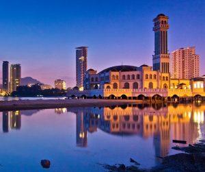 penang van rental - penang floating mosque (6)