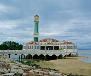 penang van rental - penang floating mosque (7)