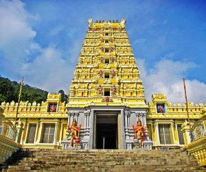 penang van rental - penang waterfall hilltop temple (5)