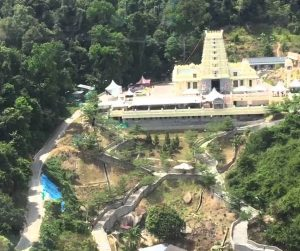 penang van rental - penang waterfall hilltop temple (6)