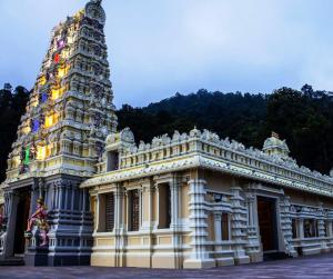 penang van rental - penang waterfall hilltop temple (7)