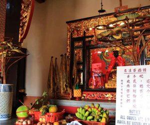 penang van rental - snake temple (8)