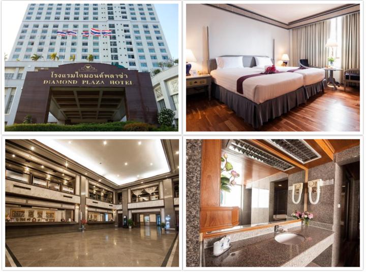Hatyai van rental - diamond plaza hotel hatyai -720x540