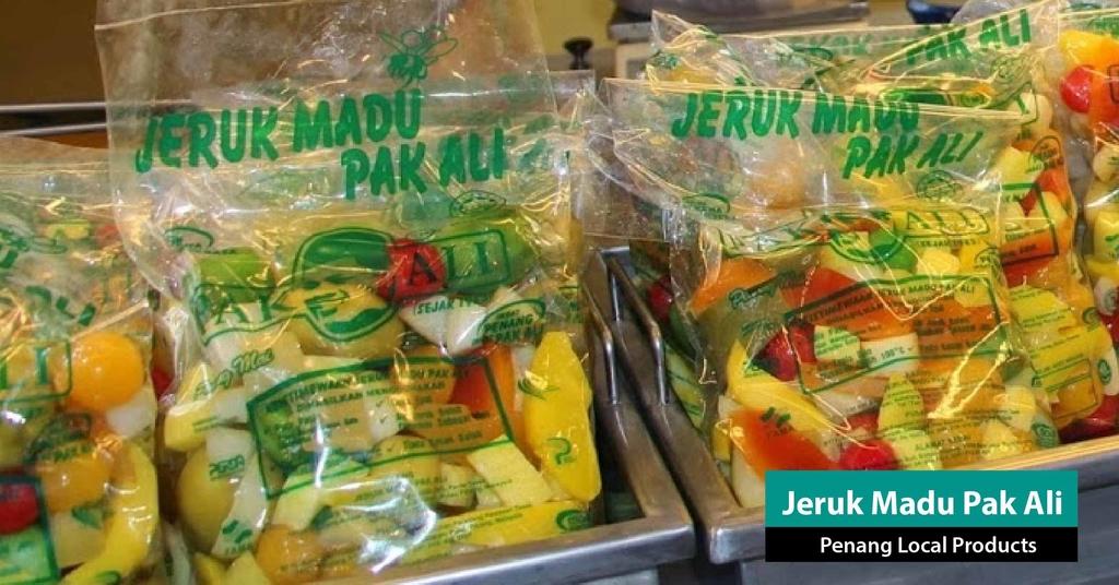 Jeruk-Madu-Pak-Ali-penang-van-rental